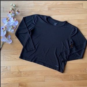 PATAGONIA black capilene shirt size Medium